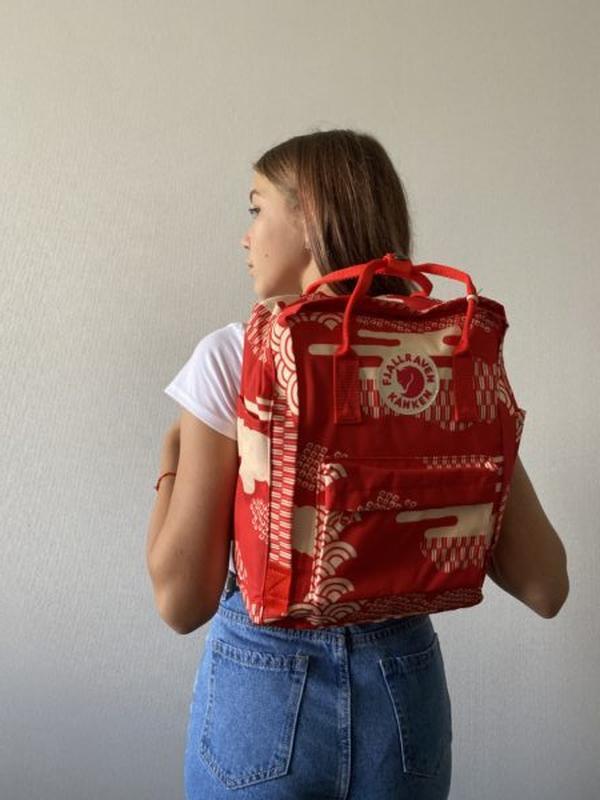 Рюкзак женский kanken classic art 16l | рюкзак жіночий портфель - Фото 2
