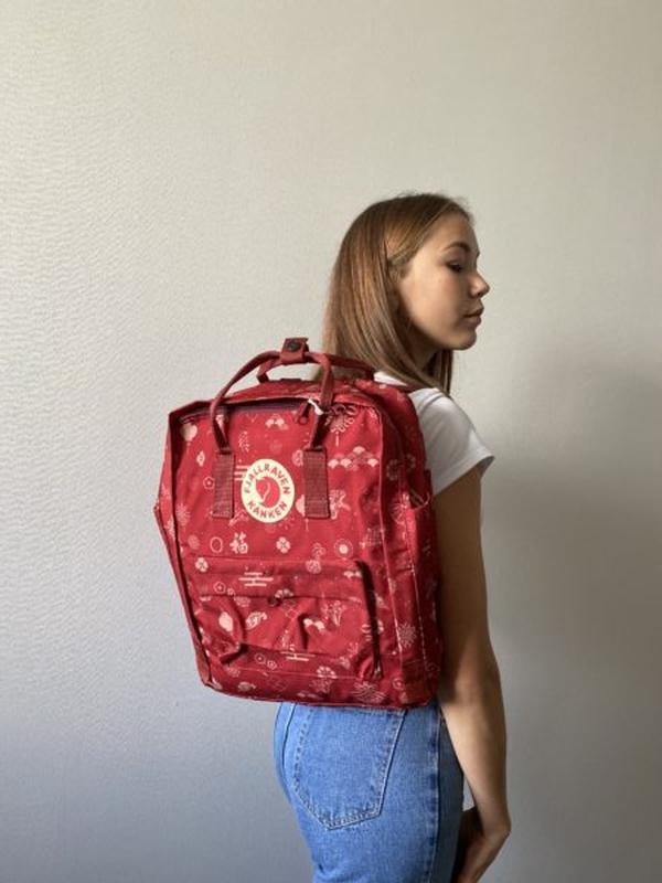 Рюкзак женский kanken art 16l | рюкзак жіночий портфель канкен - Фото 3