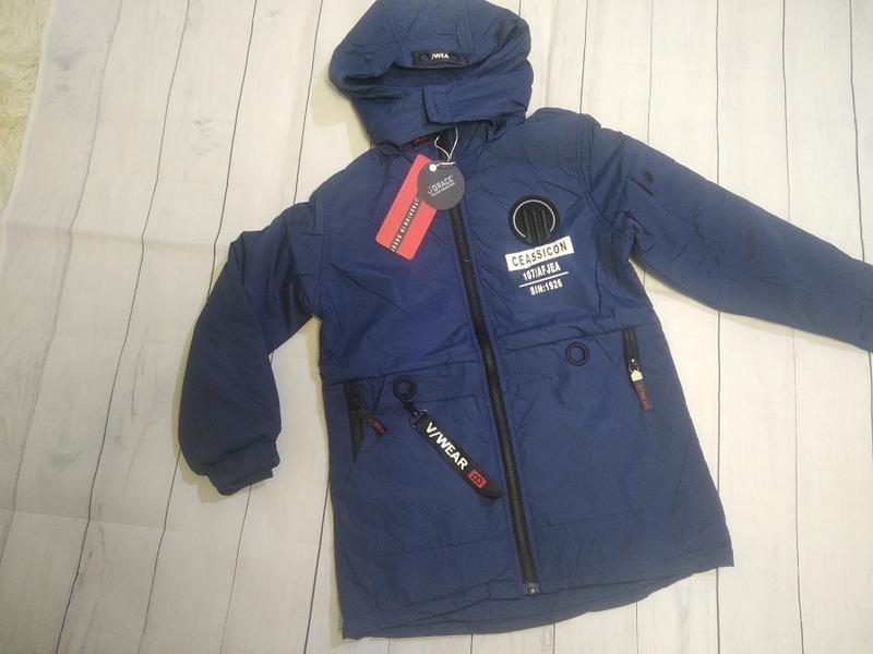 Демисезонные куртки 140-146венгрия grace.
