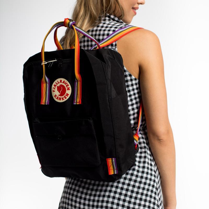 Рюкзак женский kanken rainbow 16l | рюкзак жіночий портфель... - Фото 4