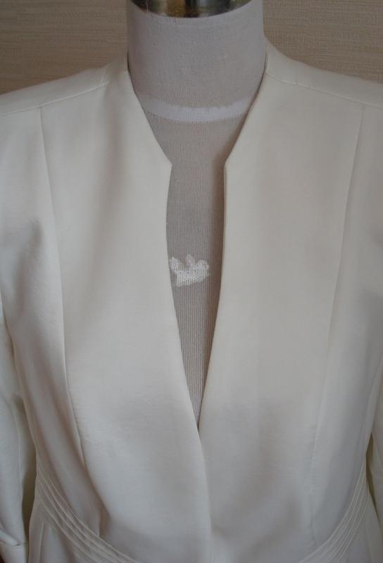🌹🌹нарядный женский пиджак цвета шампань 3/4 рукав dolly польша... - Фото 5