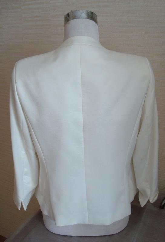 🌹🌹нарядный женский пиджак цвета шампань 3/4 рукав dolly польша... - Фото 8