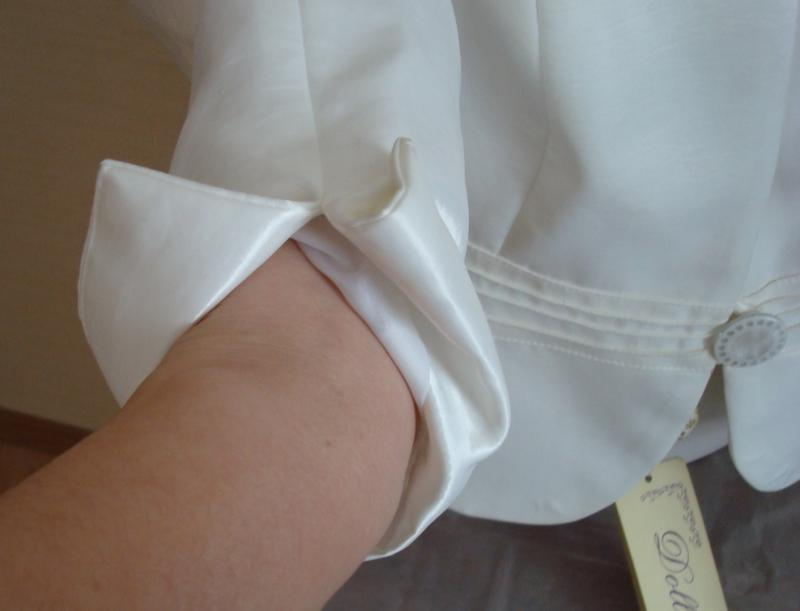 🌹🌹нарядный женский пиджак цвета шампань 3/4 рукав dolly польша... - Фото 9