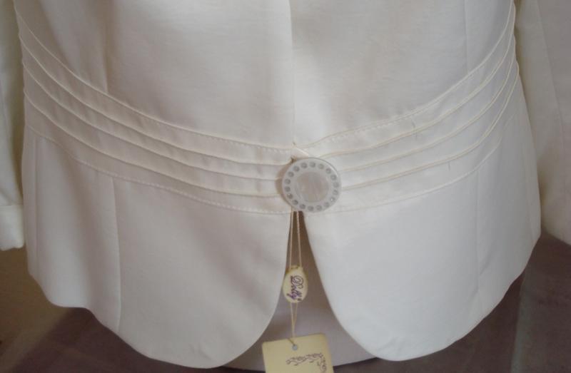 🌹🌹нарядный женский пиджак цвета шампань 3/4 рукав dolly польша... - Фото 10