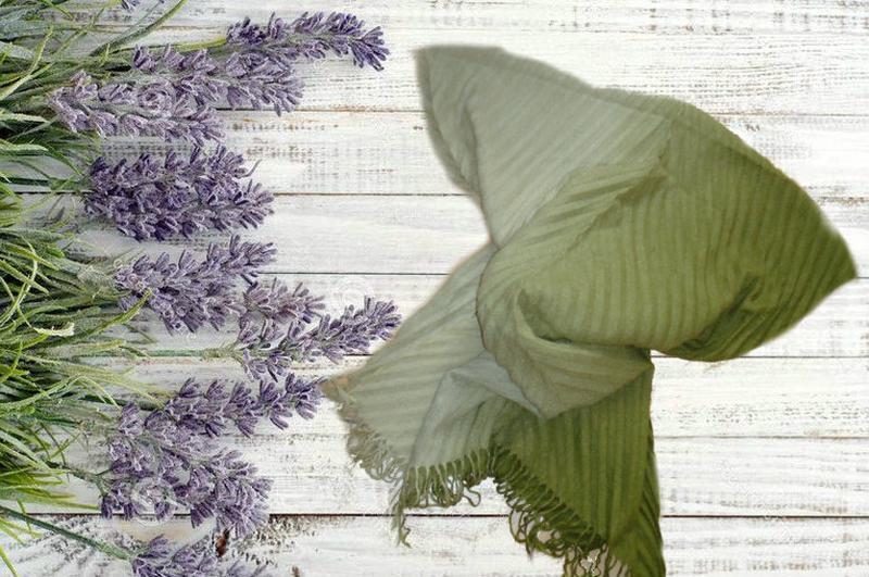 🌻🌻красивый большой шарф плиссе с бахромой с переходом цвета 🌻🌻🌻