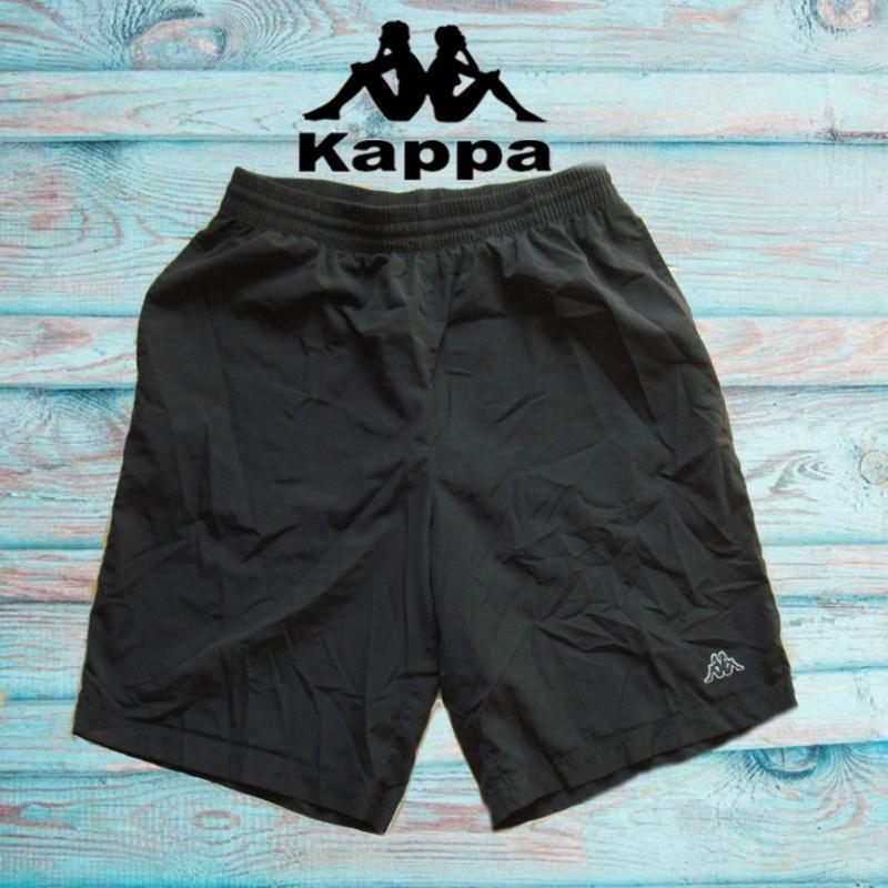 🐾🐾kappa легкие мужские шорты черного цвета m - l оригинал 🐾🐾🐾