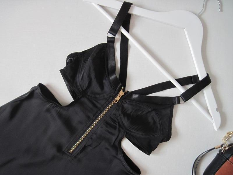 Топ блуза майка topshop вырезы по бокам перекрестные бретели н... - Фото 2