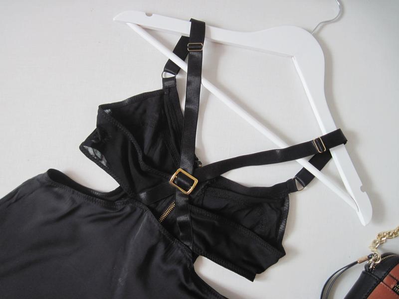 Топ блуза майка topshop вырезы по бокам перекрестные бретели н... - Фото 3