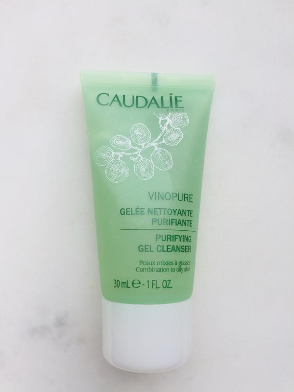 Желе для умывания caudalie vinopure purifyng gel cleanser 30 ml