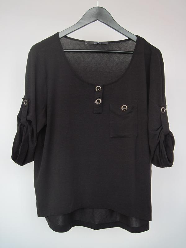 Женская кофта блуза плотная стрейчевая декор металл. застежки
