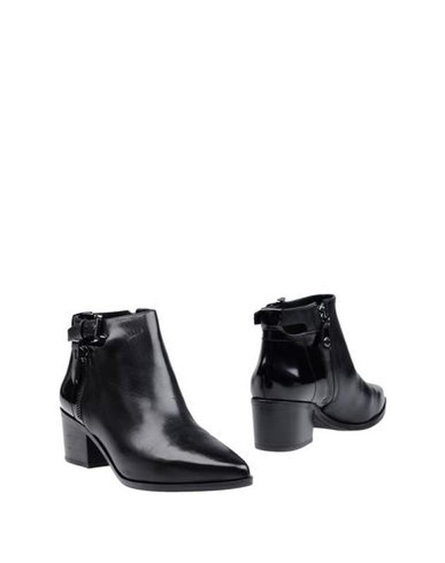 Бесподобные кожаные ботинки ботильоны, натуральная кожа, практ...