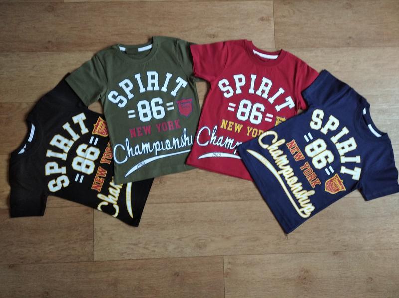 Яркие футболки для мальчика от 4-5 до 8-9 лет, турция, хлопок