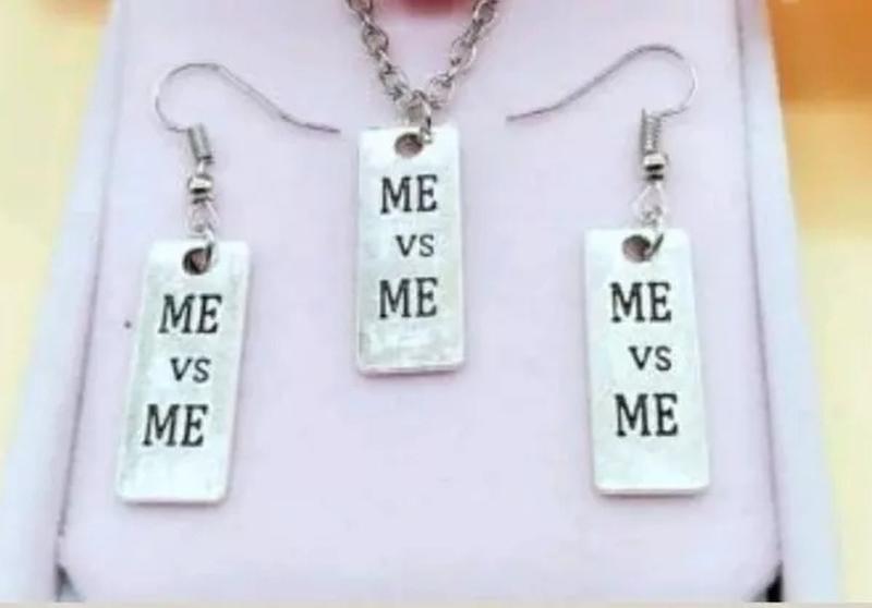 """Подвеска,  Серьги """"Me vs Me"""""""