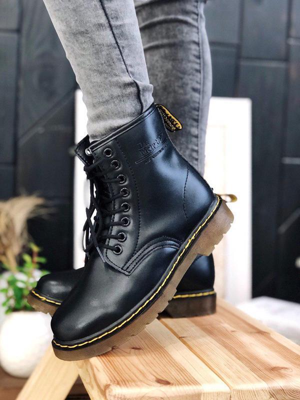 Ботинки dr. martens мех - топ качество
