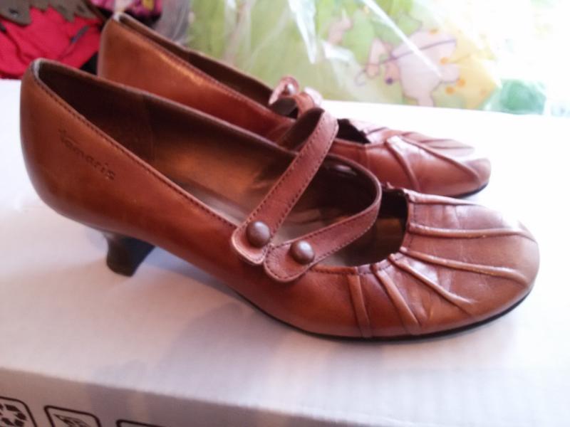 Очень удобные туфли из натуральной кожи
