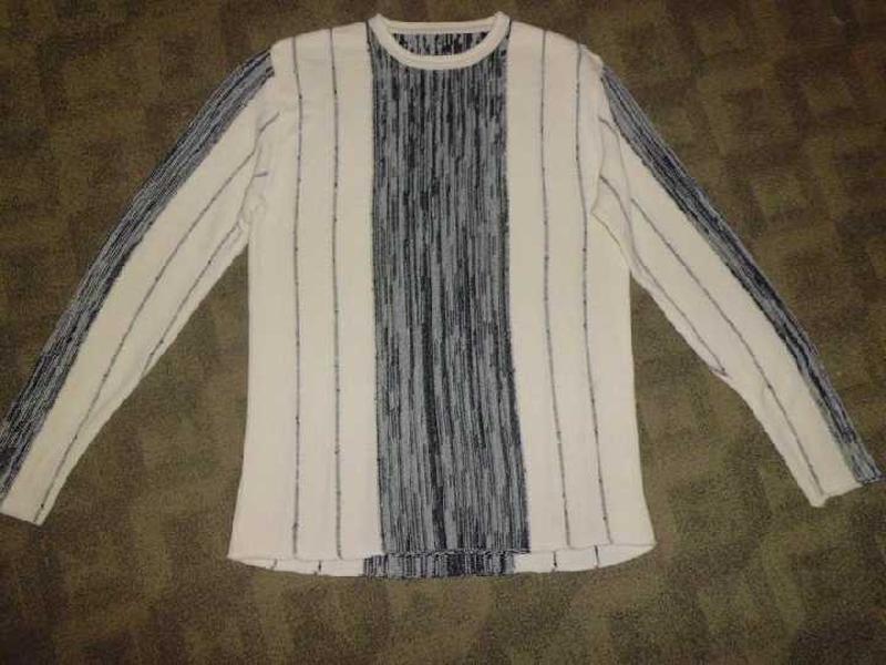 Стильный свитер 46-48 наш качество шерсть+котон