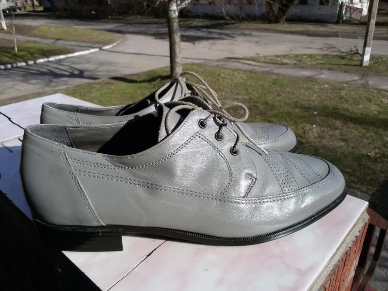Туфли натуральная кожа 44р. men shoes