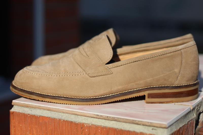 Кожаные мужские туфли apollo wertvolle handarbeit(германия) 41-42