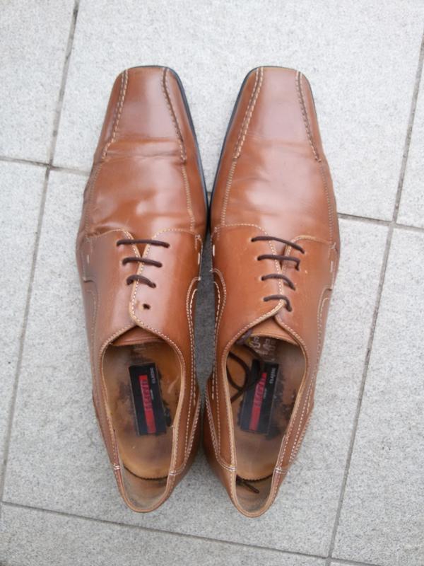 Туфли  lloyd classic 46р. натуральная кожа
