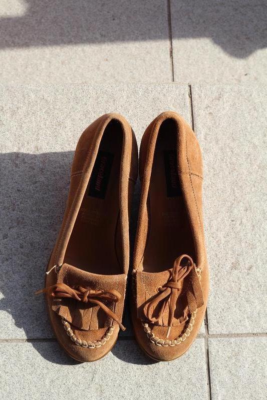 Комфортные замшевые туфли graceland