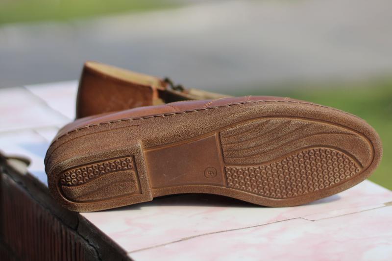Стильные кожаные босоножки jana - Фото 5