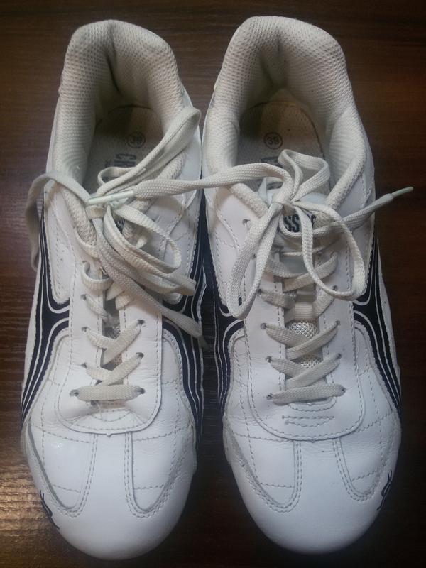 Кожаные кросовки criss cross