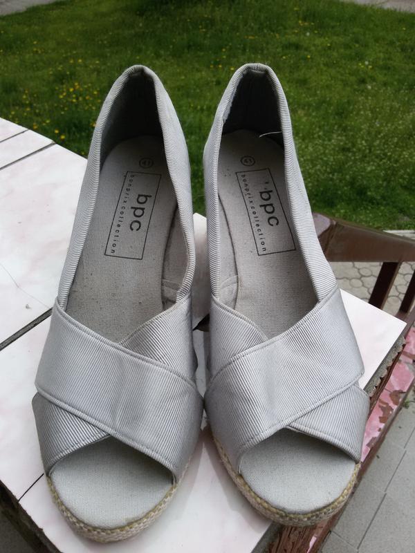 Стильные туфли-босоножки бонприкс