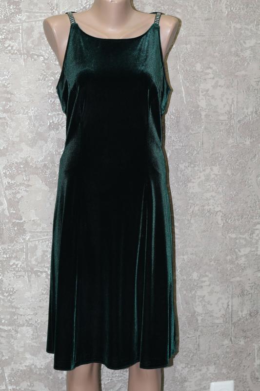 Vera mont эксклюзивное, велюровое, безумно красивое платье