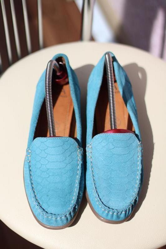 Шикарные комфортные кожаные мокасины, туфли va milano