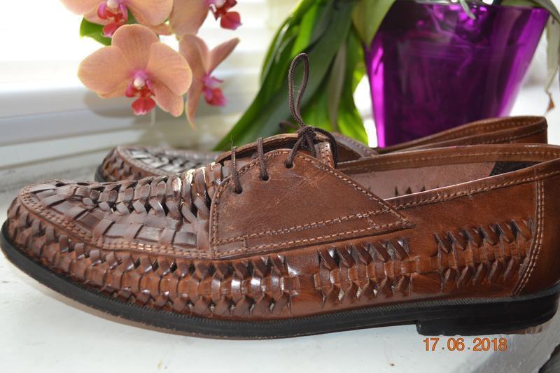 Туфли летние, босоножки st lawrence bay натуральная кожа оригинал