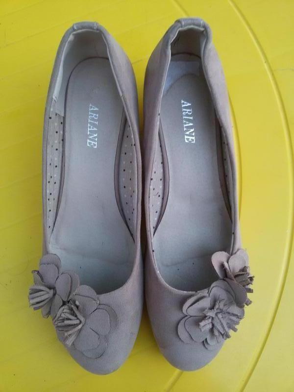 Шикарные легкие летние комфортные туфли балетки ariane