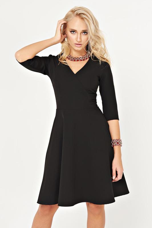 Шикарное  черное платье m smade