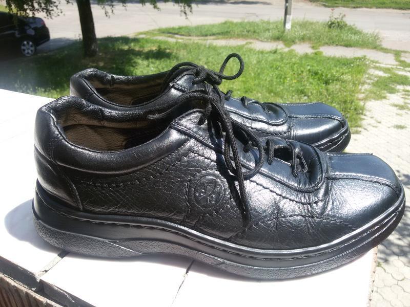 Шикарные кожаные туфли германия