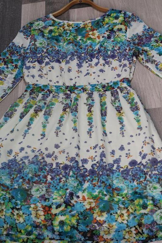 В единственном экземпляре шифоновое платье morghy art stylist