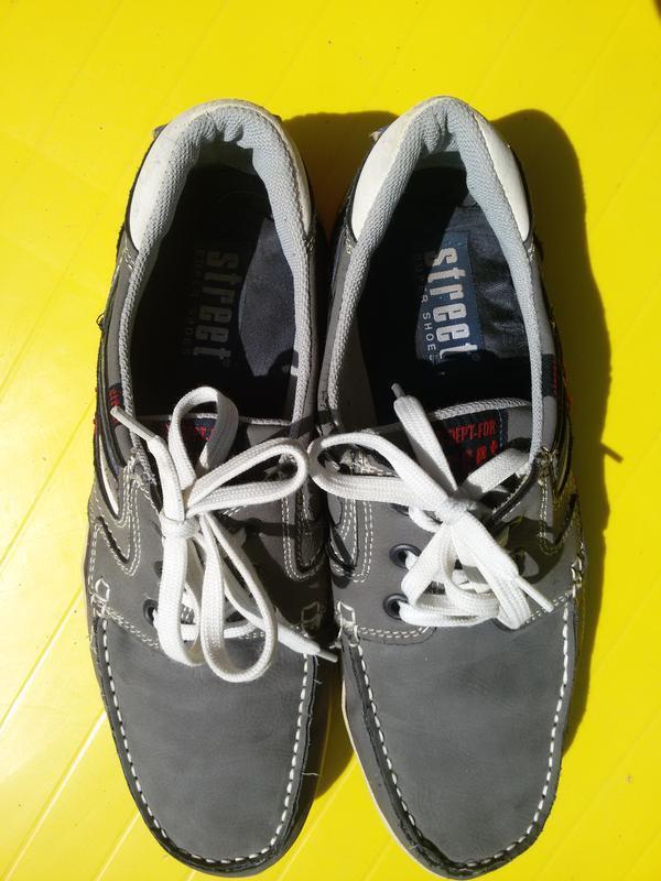 Комфортные туфли, мокасины street super shoes