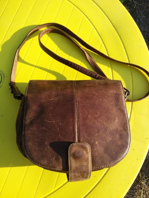 Шикарная сумка из натуральной кожи eastline