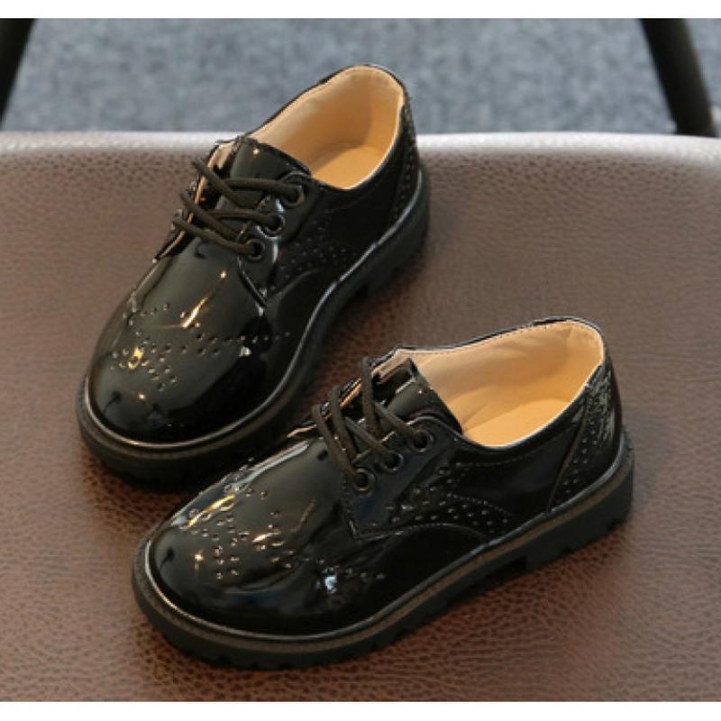 Лакированые туфли детские bobozi черные