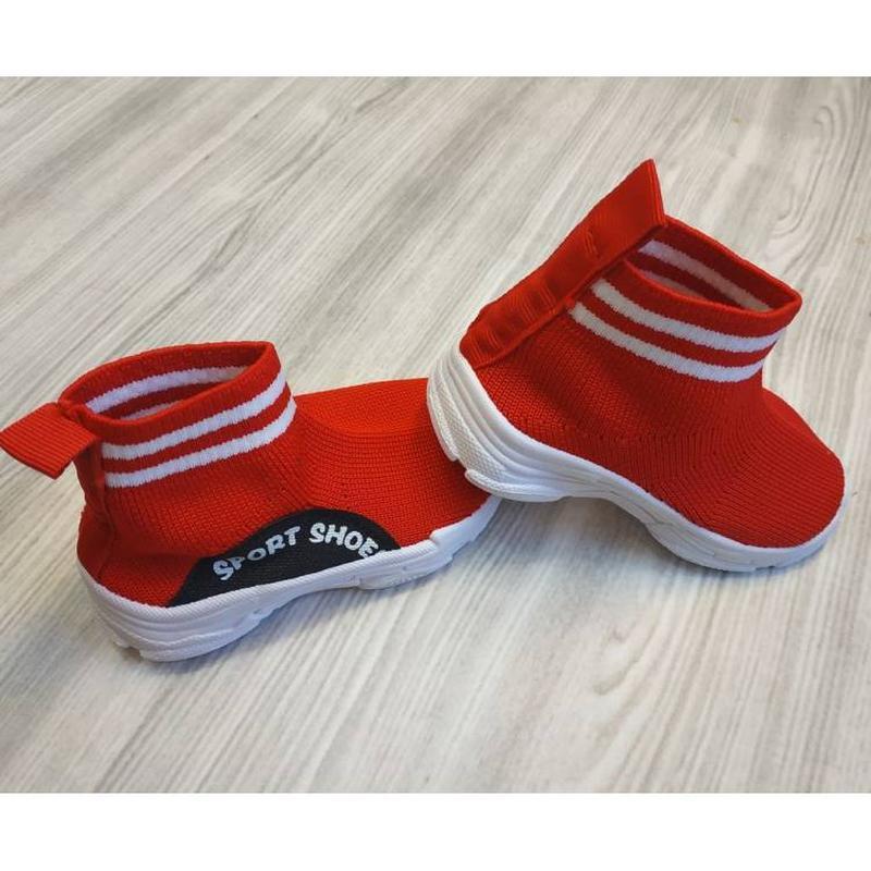 Текстильные кроссовки sport shoes красные