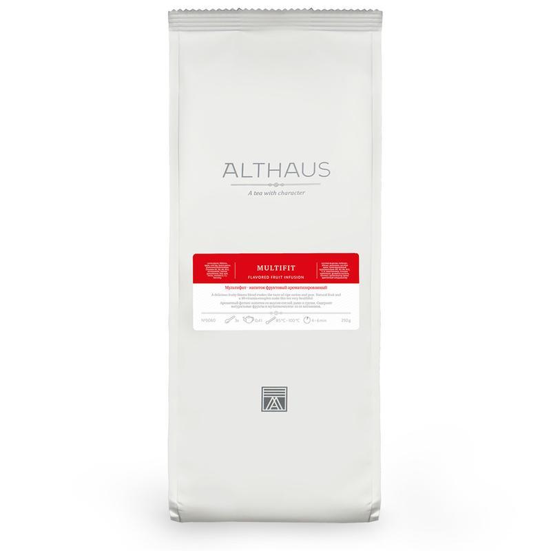 Фруктовый чай Althaus Multifit 250гр
