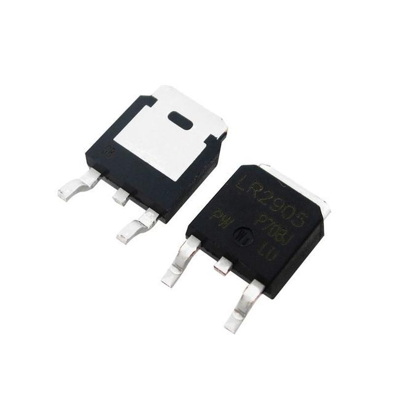 Транзистор полевой N-канал IRL 2905 в корпусе d2paс 55 вольт 36А
