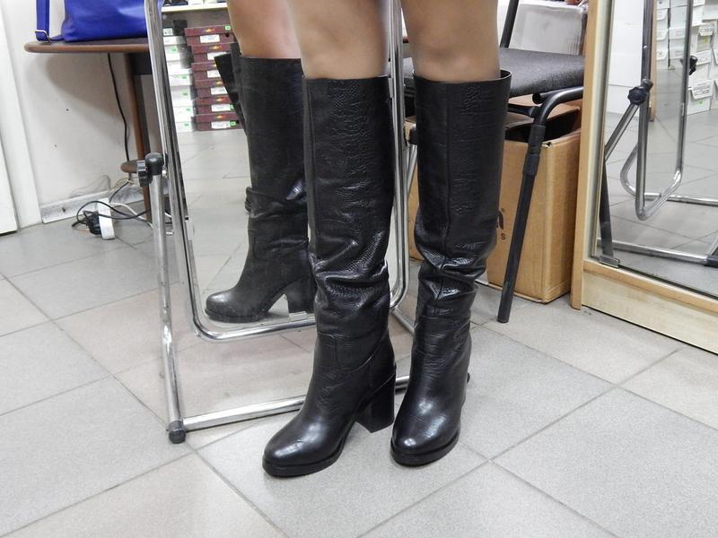Стильные зимние сапоги dali fashion