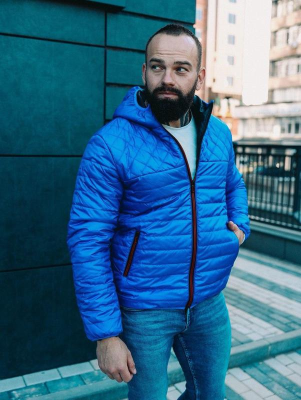 Куртка мужская на осень/весну - Фото 5