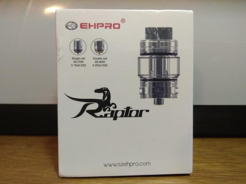 Ehpro Raptor Sub Ohm Tank