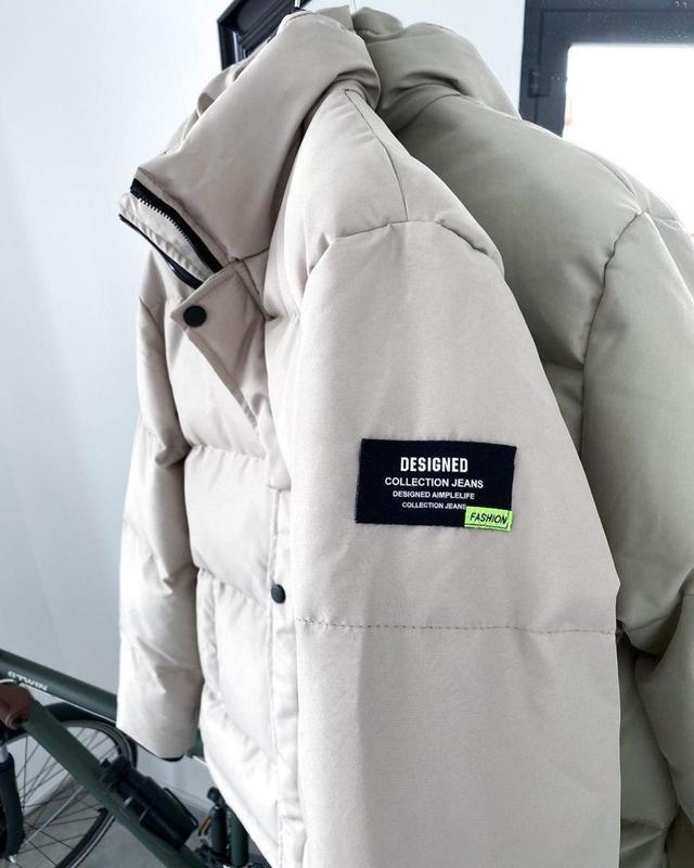 Шикарный пуховик/зимняя куртка - Фото 5