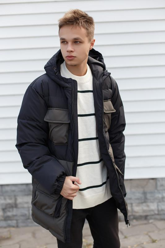 Мужская зимняя куртка/пуховик