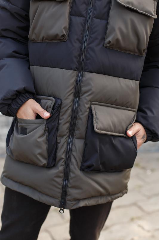 Мужская зимняя куртка/пуховик - Фото 3