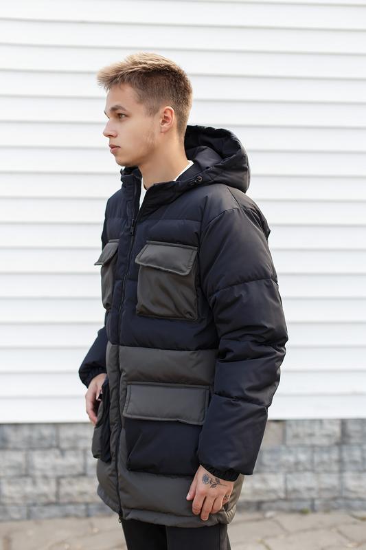 Мужская зимняя куртка/пуховик - Фото 5