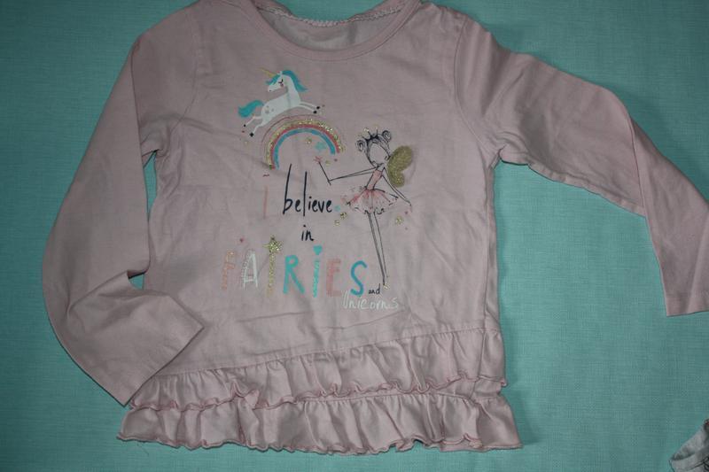 Милашная котоновая пижама ф.primark для девочки от 3до 5лет,р-... - Фото 2
