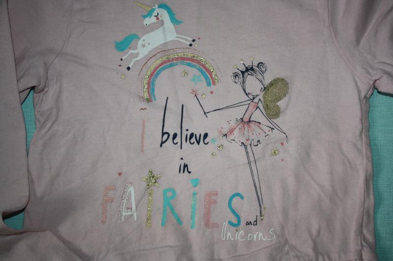 Милашная котоновая пижама ф.primark для девочки от 3до 5лет,р-... - Фото 4