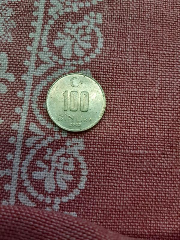 Монета Лира Турция
